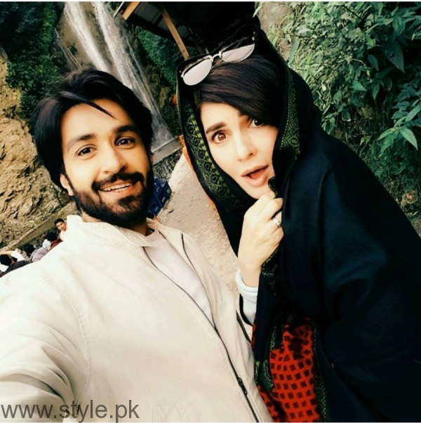 Recent Pictures of Mahnoor Baloch and Azfar Rehman (2)
