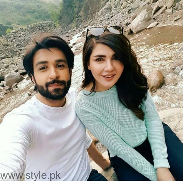 Recent Pictures of Mahnoor Baloch and Azfar Rehman (4)