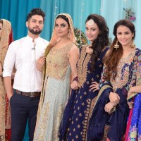 Nida Khan with beautiful models
