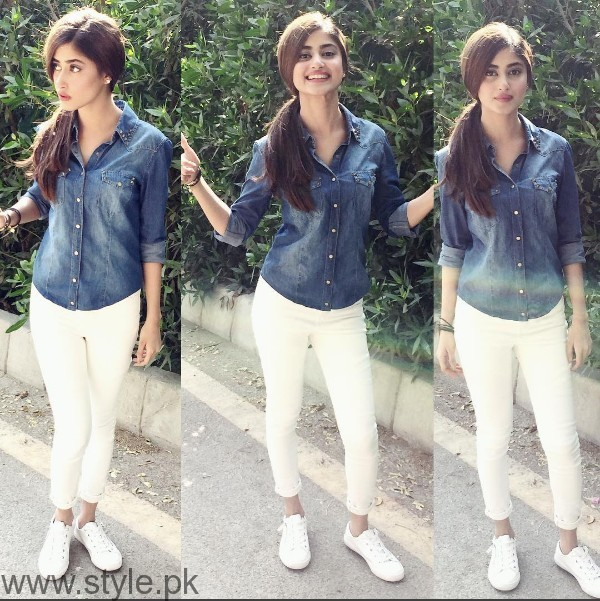 White Sneakers Trend in Pakistani Celebrities (9)