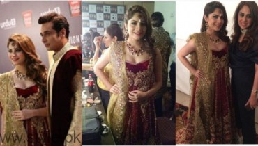 See Bold Look of Neelum Muneer at Fashion Pakistan Week
