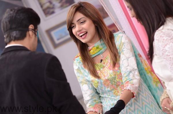 Furqan Qureshi with his Wife Sabrina in Good Morning Pakistan (5)