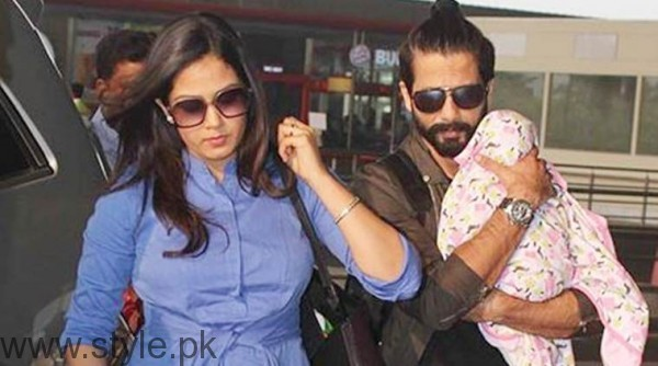 See Glimpse of Shahid Kapoor's daughter