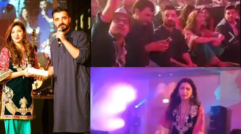 Hamza Ali Abbasi and Mahira in Dubai