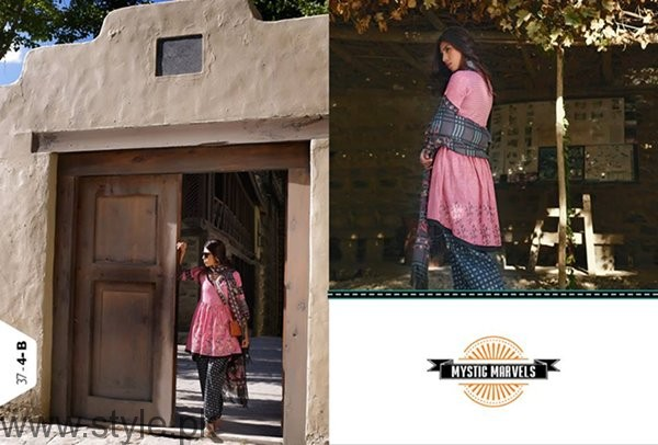 LSM Fabrics Winter Dresses 2016-2017 For Women001
