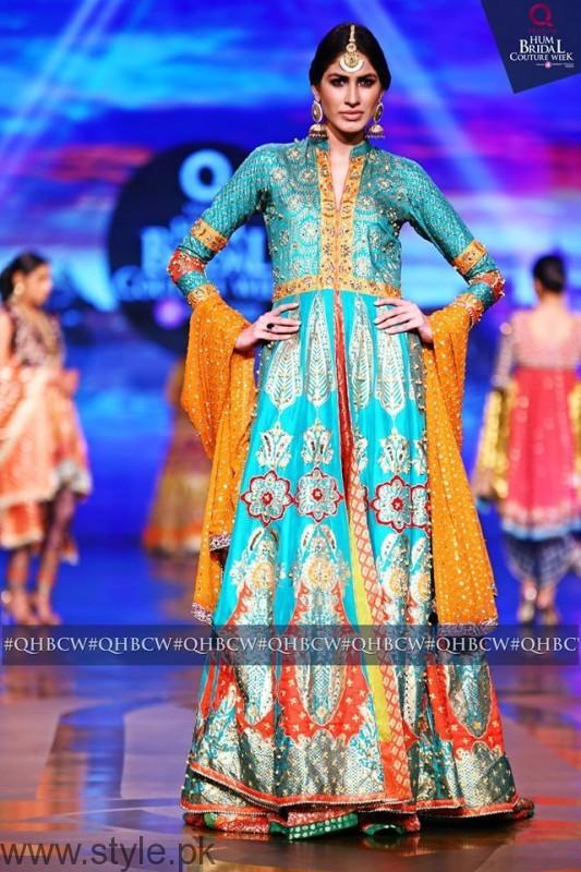 Mehndi Dresses at Bridal Couture Week 2016 (2)