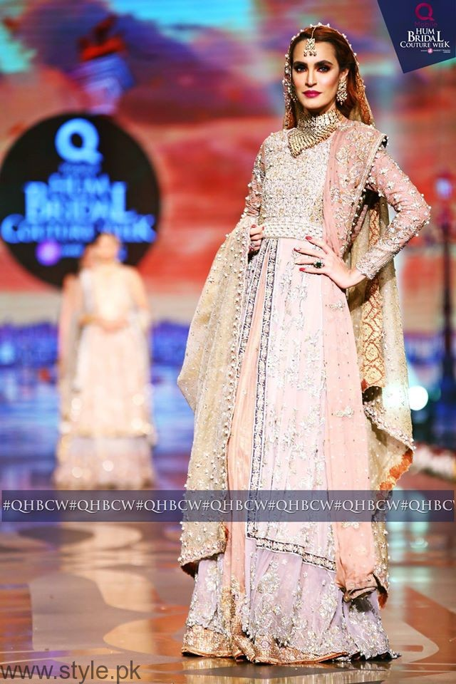 Nadia Hussain - Bridal Couture Week 2016 Day 3