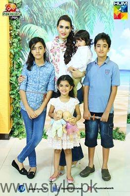 NadiaHussain and Kids