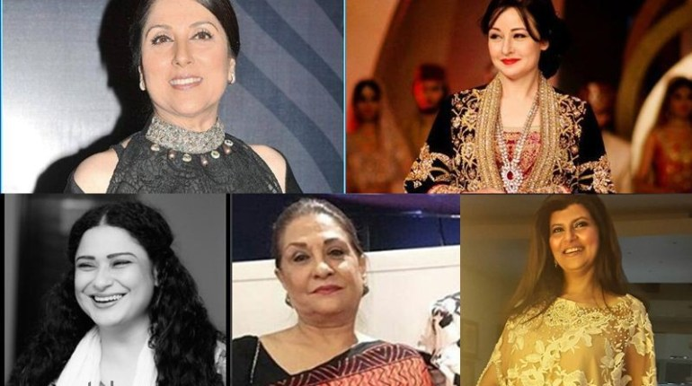 PAkistani Ever-Green Veteran Actresses