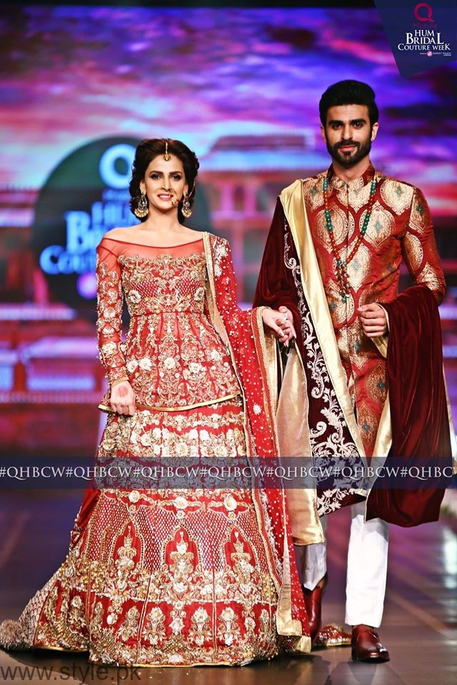Saba Qamar - Bridal Couture Week 2016 Day 2