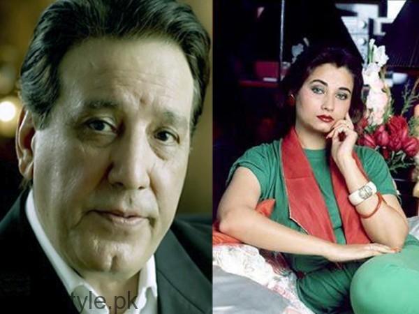 Salma Agha and Javed Sheikh