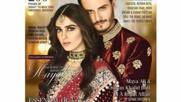 See Maya Ali and Osman Khalid Butt stunned on the cover of Diva Magazine