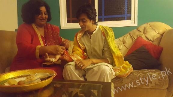 Abdul Hadi Mayoun Pictures with Yasra Rizvi