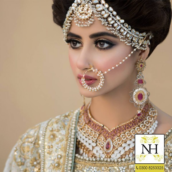 Bridal Photoshoot of Sajal Ali For Nadia Hussain