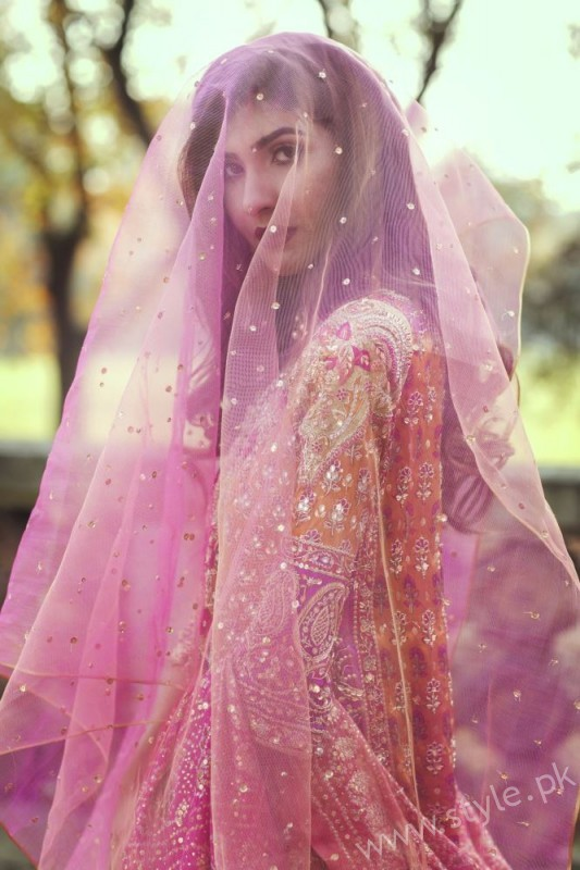 Farah Talib Aziz - The Eternal Empress Bridal Couture - Look 3 (1)