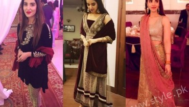 See Hareem Farooq at her friend's Wedding