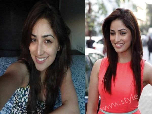 List Of Bollywood Actresses Looks Beautiful With And Without Makeup004