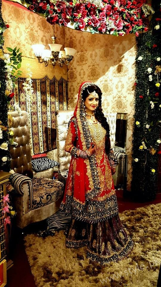 Nimra Khan bridal1
