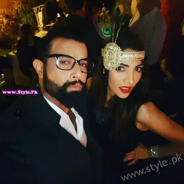 Noor Hassan and Zhalay Sarhadi Christmas Night Pictures