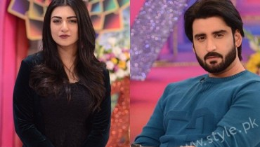 See Sarah Khan and Agha Ali in Good Morning Pakistan