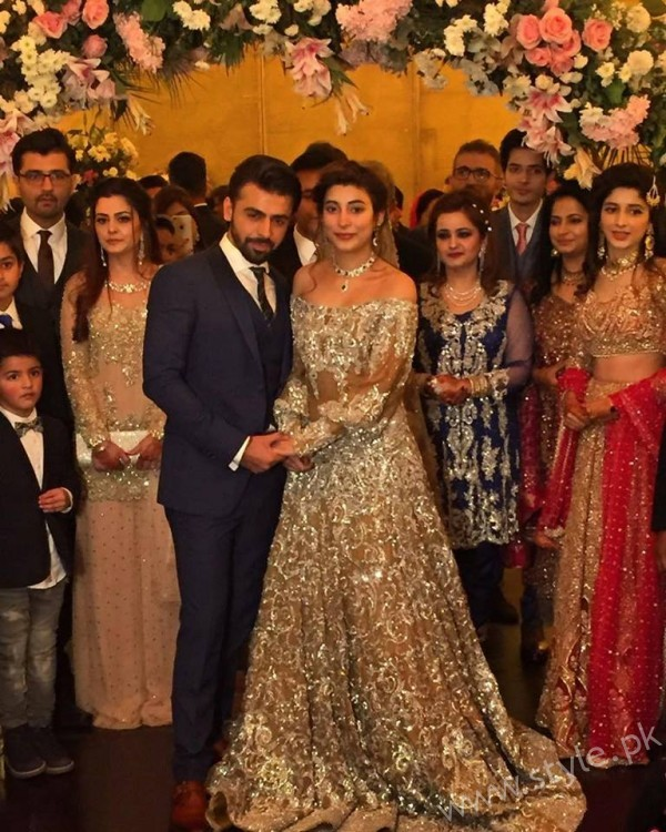 Urwa Hocane and Farhan Saeed Grand Reception
