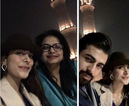 Urwa Hocane with her Mother at Cooco's Den Lahore