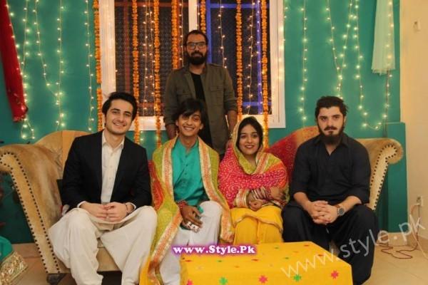Yasra Rizvi Mehndi Pictures