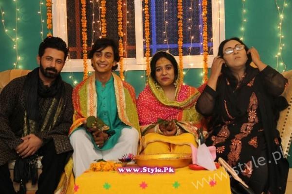 Baji Irshad Mehndi Ceremony