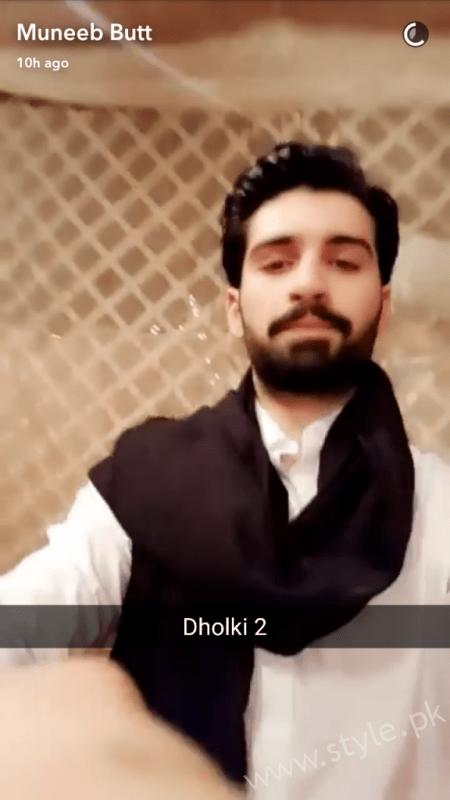 Aiman Khan Muneeb Butt Dholki (4)