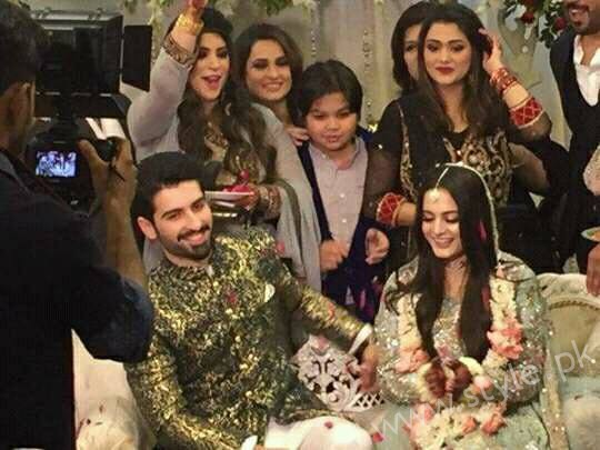 Aiman Khan Muneeb Butt Photoshoot on Engagement (16)