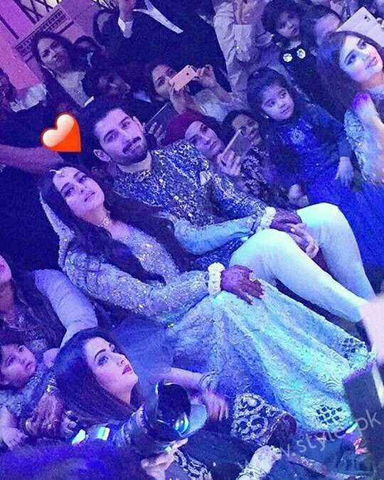 Aiman Khan Muneeb Butt Photoshoot on Engagement (9)