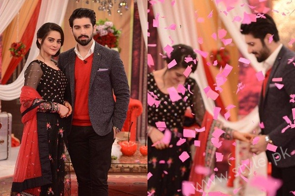See Aiman Khan and Muneeb Butt in Good Morning Pakistan