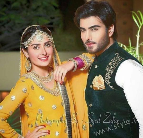 Ayeza Khan and Imran Abbas Cast Of Mohabbat Tum Se Nafrat Hai (1)
