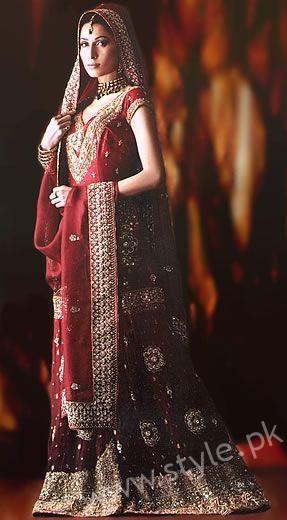 Banarsi Gharara Pakistani Brides (11)
