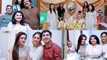 See Celebrities at Javeria Saud's daughter Jannat Saud's Birthday Party