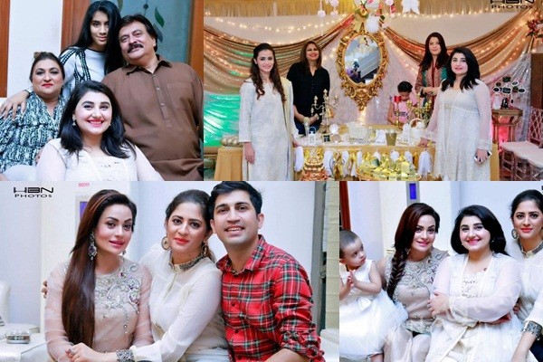 See Celebrities at Javeria Saud's daughter Jannat Saud's Birthday Party