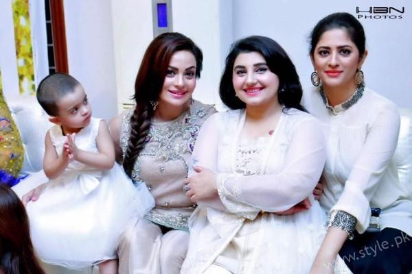 Celebrities at Javeria Saud's daughter Jannat Saud's Birthday Party (20)
