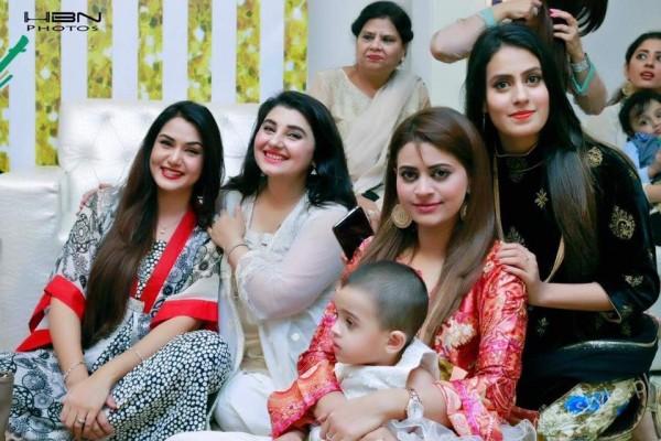 Celebrities at Javeria Saud's daughter Jannat Saud's Birthday Party (26)