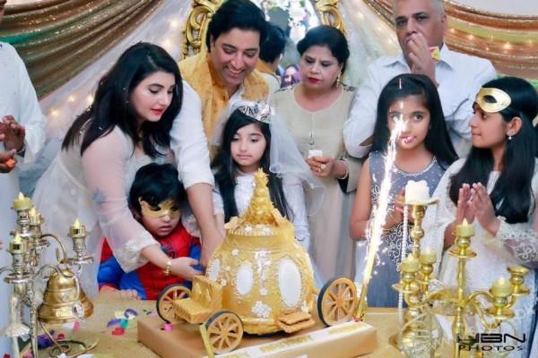 Celebrities at Javeria Saud's daughter Jannat Saud's Birthday Party (37)