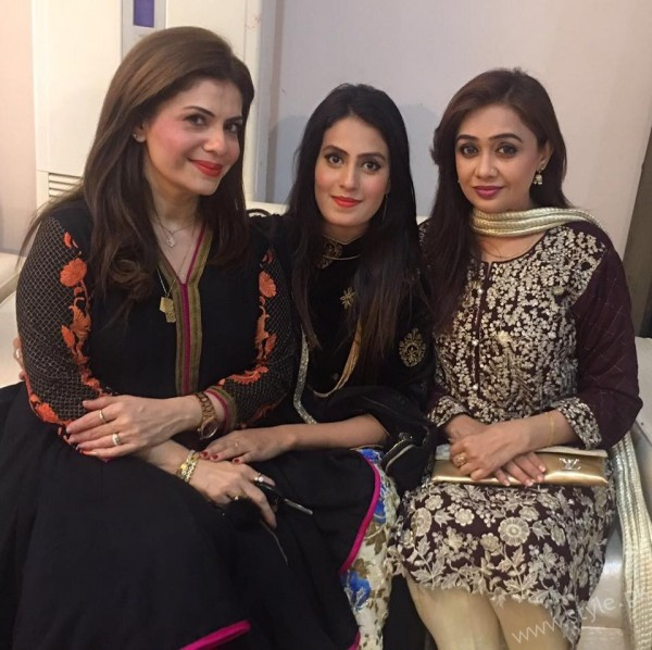 Celebrities at Javeria Saud's daughter Jannat Saud's Birthday Party (4)