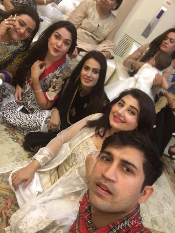 Celebrities at Javeria Saud's daughter Jannat Saud's Birthday Party (5)