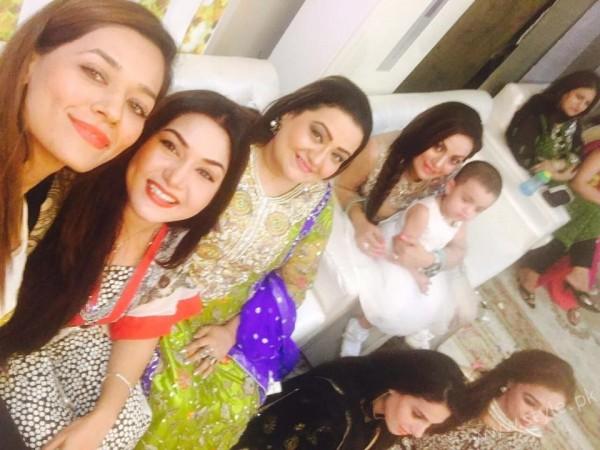 Celebrities at Javeria Saud's daughter Jannat Saud's Birthday Party (8)