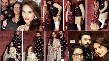 See Fawad Khan and Mehreen Syed's Photoshoot for Silk