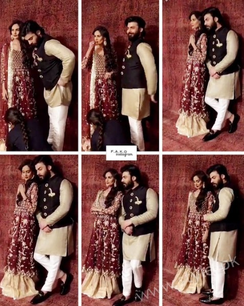 Fawad Khan and Mehreen Syed's Photoshoot for Silk (4)