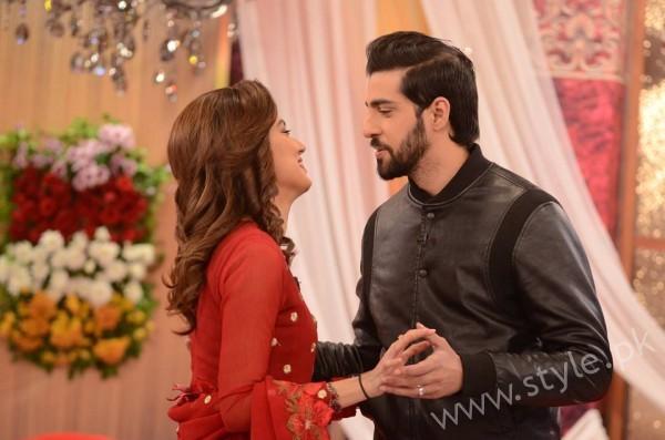 Furqan Qureshi and Sabrina Naqvi in Good Morning Pakistan (2)