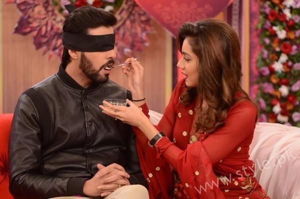 Furqan Qureshi and Sabrina Naqvi in Good Morning Pakistan (9)
