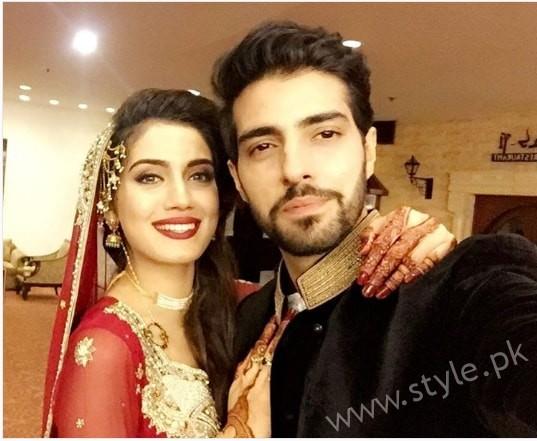 Furqan Qureshi and Sabrina Naqvi's Reception and Wedding Pictures (5)