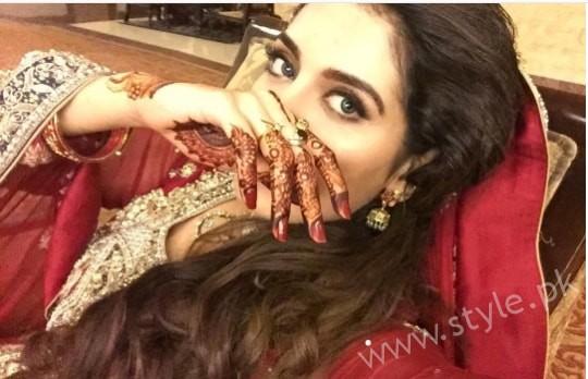 Furqan Qureshi and Sabrina Naqvi's Reception and Wedding Pictures (7)