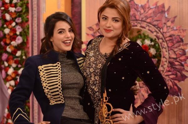 Kon Bane Gi Humayun Asraf Ki Dulhan Special Show in Good Morning Pakistan (14)