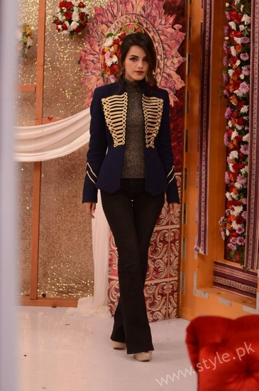 Kon Bane Gi Humayun Asraf Ki Dulhan Special Show in Good Morning Pakistan (16)